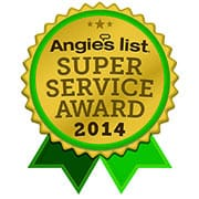 Angie's list - New York Carpet Cleaning,Inc. Super service Award