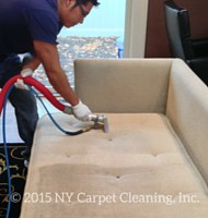 Upholstery Furniture Cleaning by NY Carpet Cleaning, Inc