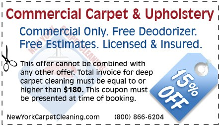 Commercial Carpet Cleaning Coupon New York Carpet