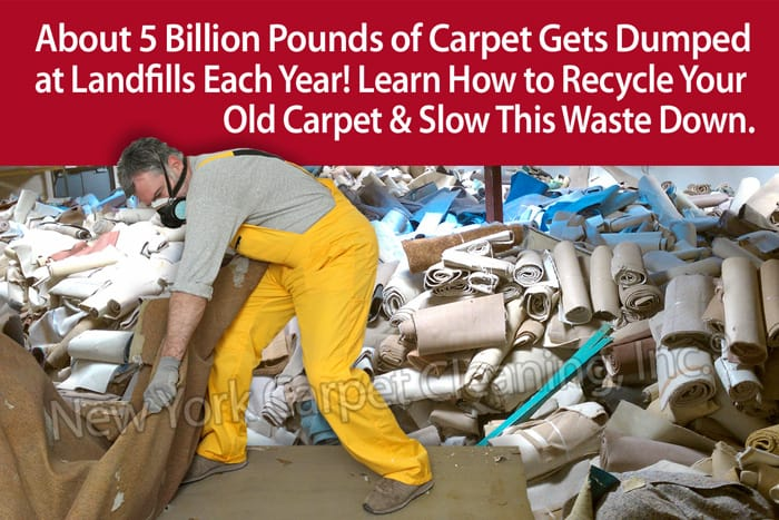 Recycle Old Carpeting
