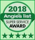 NY Carpet Cleaning Angie's List Super Service Award